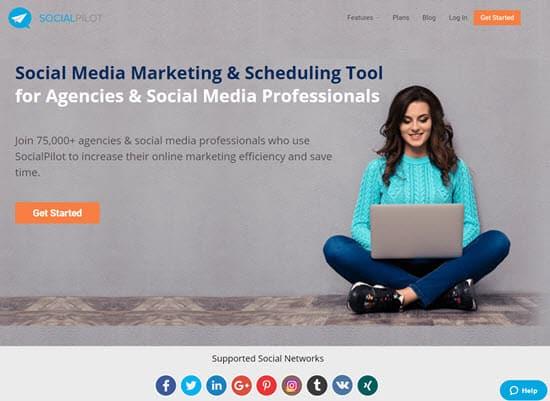 SocialPilot Social Media Management Tool