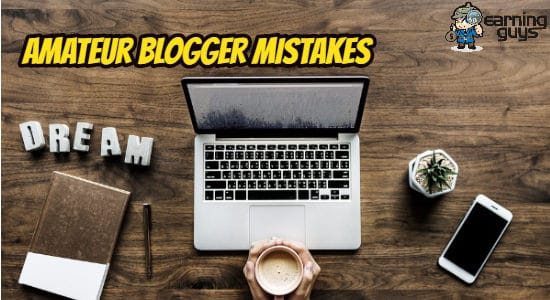 Amateur Blogger Mistakes