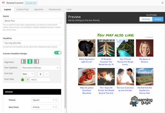 Shareaholic WordPress Related Posts Plugin