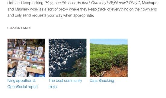 WordPress Related Posts Plugin