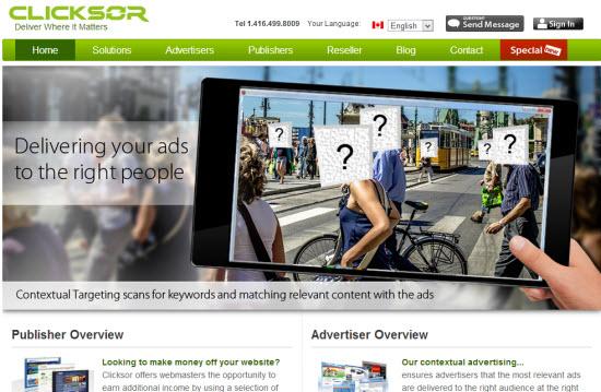 Clicksor PPV Networks
