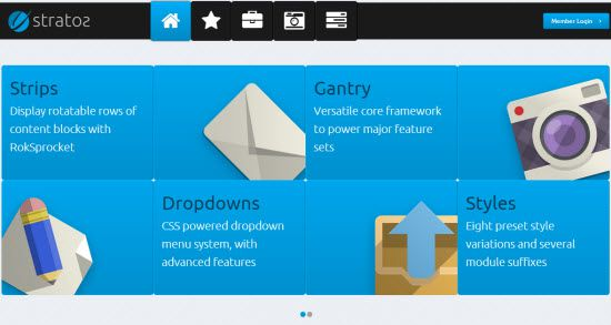 Creating Landing Page using CMS