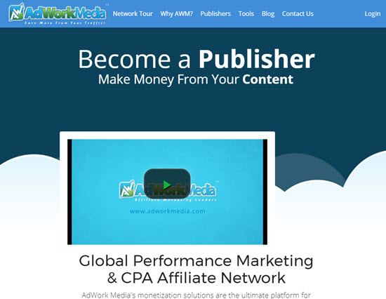 AdWorkMedia CPA Networks