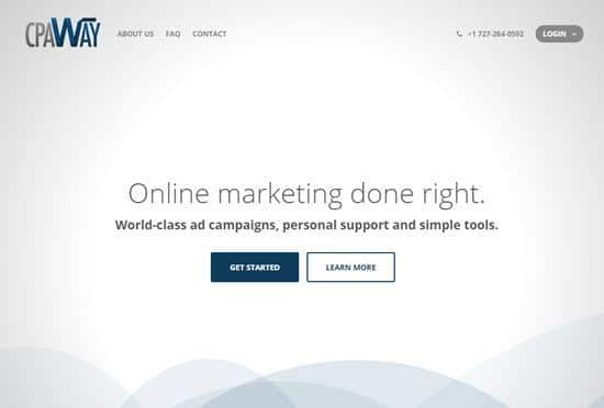 CPAWAY Affiliate Network