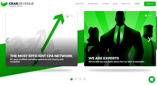 CrakRevenue CPA affiliate Network