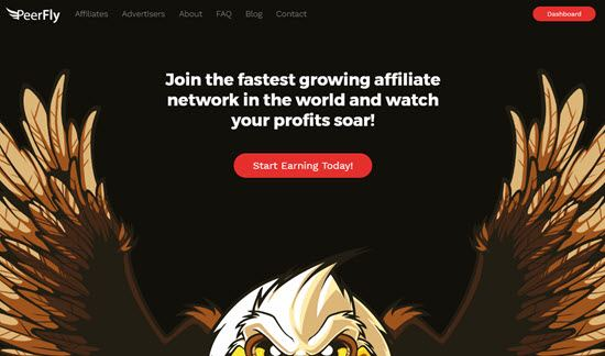 Peerfly Highest Paying CPA networks