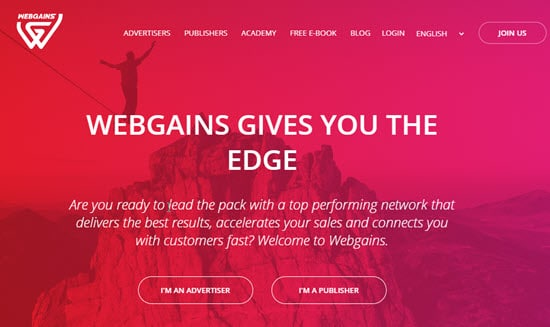 Webgains CPS Affiliate Network