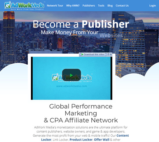 AdWorkMedia PPD Networks - Pay Per Download