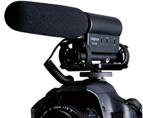 Video Blogging Microphone