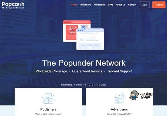 Popcash Adult Ad Network