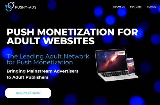 Pushy-Ads Adult Ad Network