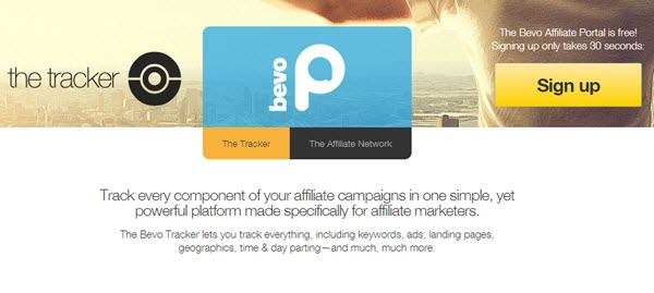 Bevo Affiliate Tracking Software