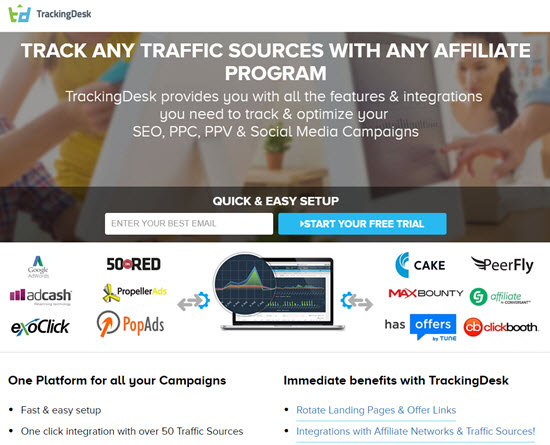 TrackingDesk CPA Affiliate Tracking