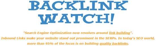 Backlink Checker Tool