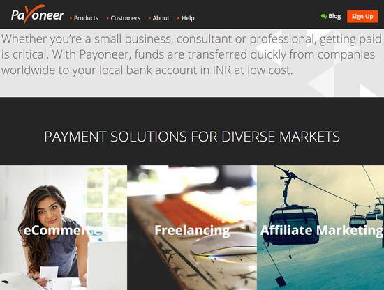 Payoneer Referral Program