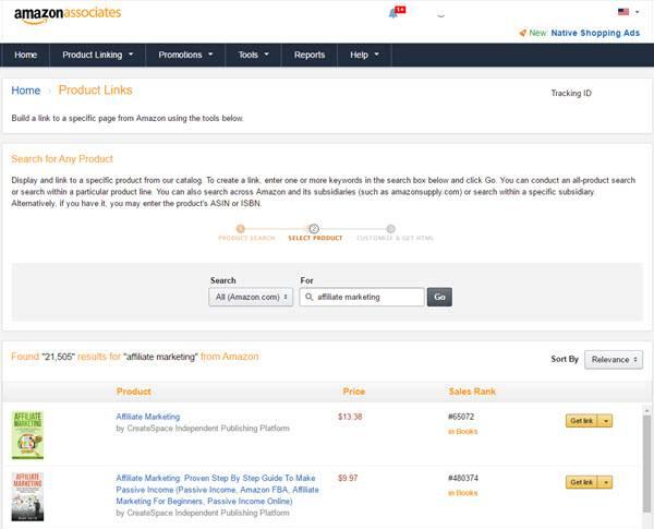 Amazon Affiliate Program Product