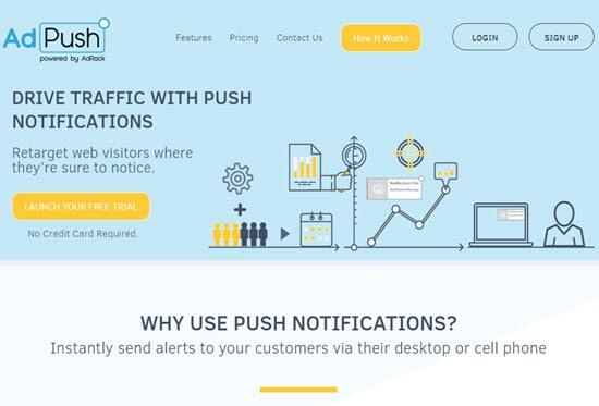 AdPush Web Push Notification