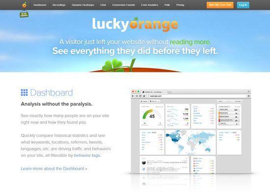Lucky Orange Heat Map Tool