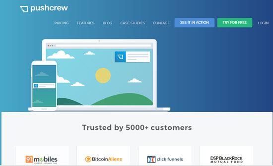 Pushcrew Website Push Notification