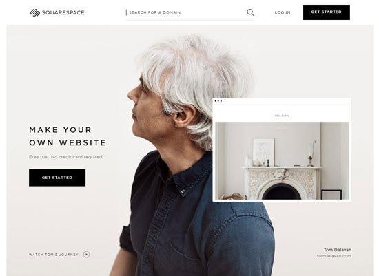 Squarespace blogging platforms