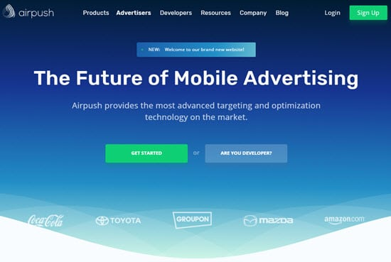 Airpush Mobile Ad Networks