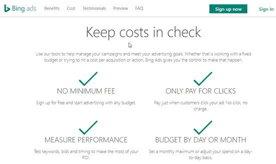 Bing Ads PPC Networks