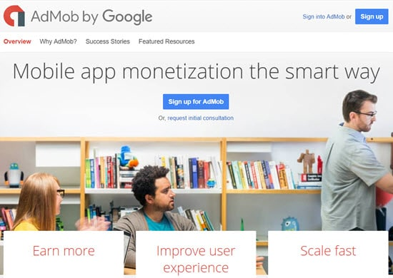 Google Admob Mobile Ad Networks