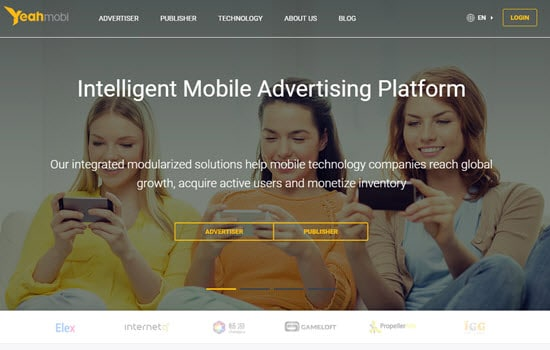 YeahMobi Mobile Ad Networks