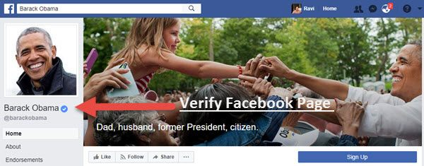 How to Verify Facebook Page in Simple Steps - EarningGuys
