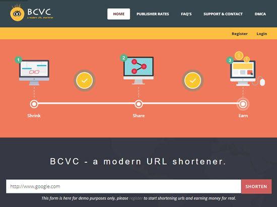 Bc.vc URL Shortener