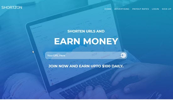 Shortzon URL Shortener
