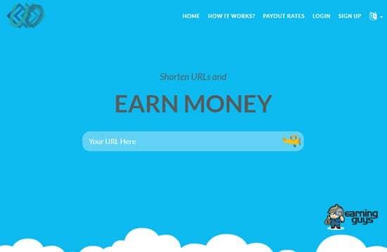 Uii URL Shortener to Earn Money