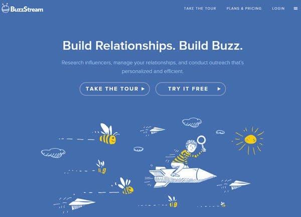 BuzzStream Influencer Marketing Software