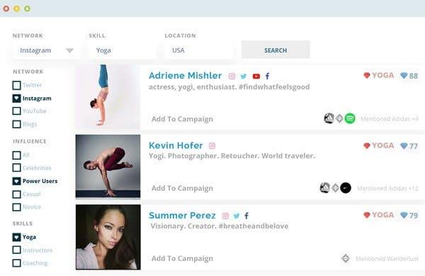 Klear Influencer Marketing Software