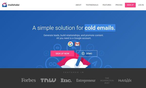 Mailshake Outreach Tool