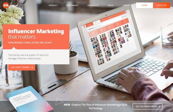Traackr Influencer Marketing Software