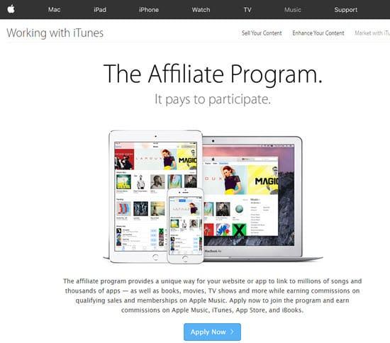 Apple's Affiliate Program