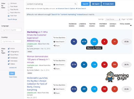 BuzzStream Best Link Building Tool