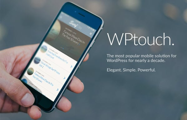 WPtouch Mobile Theme Plugin