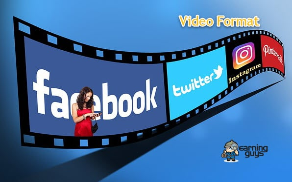 Best Video Format for YouTube, Facebook, Twitter & Instagram Videos