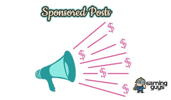 Paid Reviews or Sponsored Posts