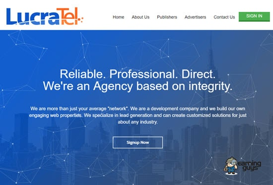 LucraTel Pay Per Call Agency | Pay Per Call Networks