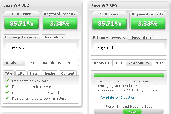 Easy WP SEO Plugin